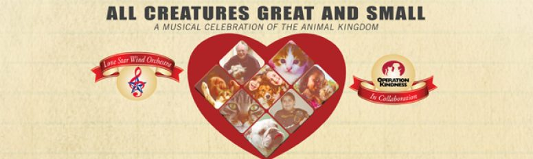 "LSWO Presents ""All Creatures Great and Small"" in Collaboration with Operation Kindness"