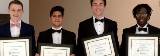 Four Scholarships Awarded this Spring