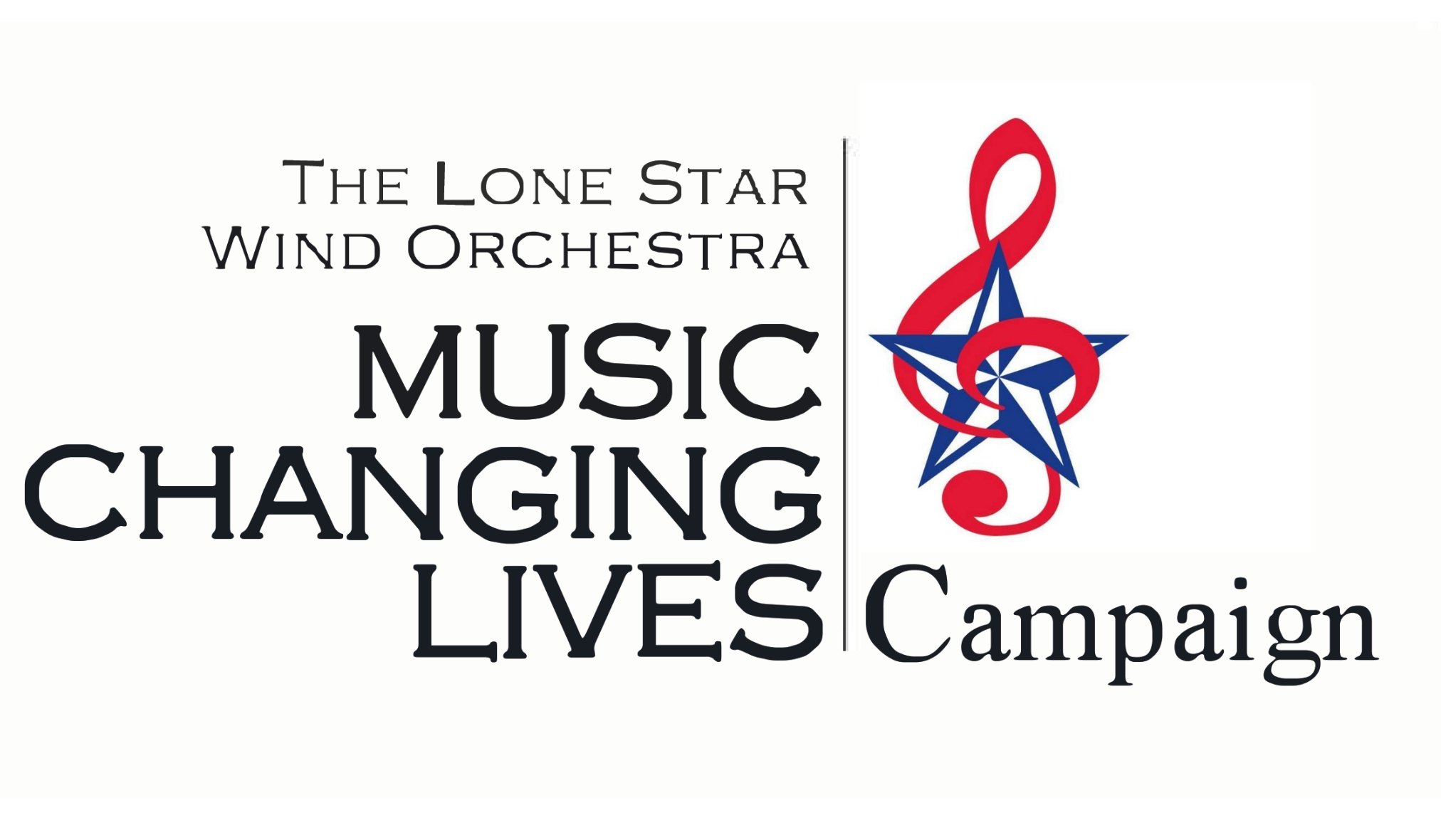 lone star wind orchestra, music changing lives, fundraising campaign